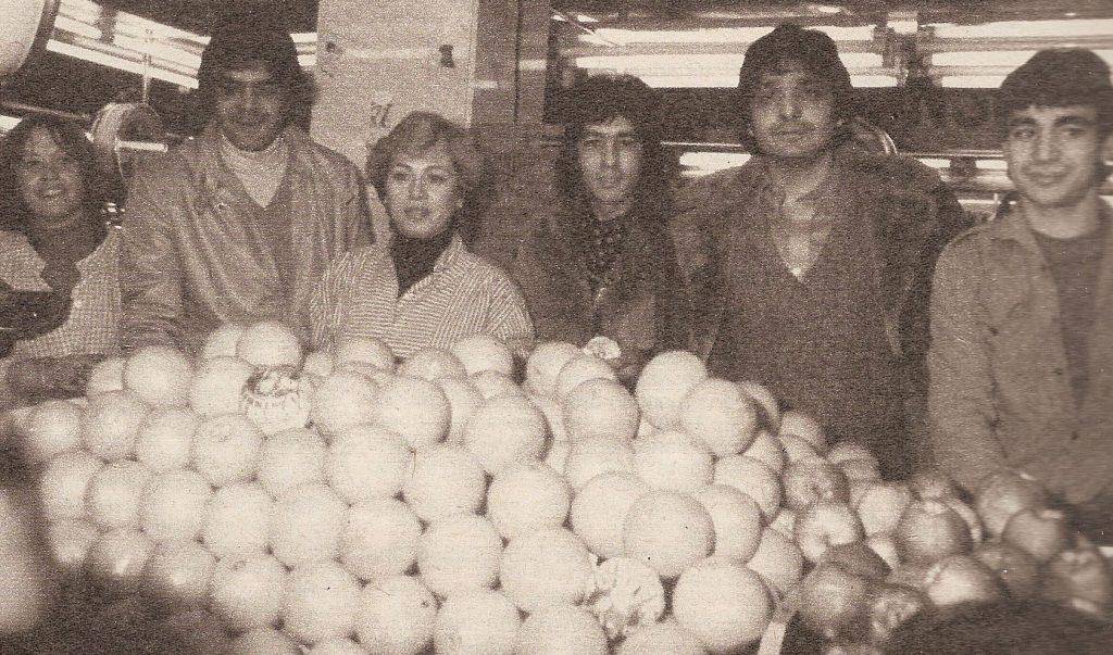 Los Chichos en el mercado